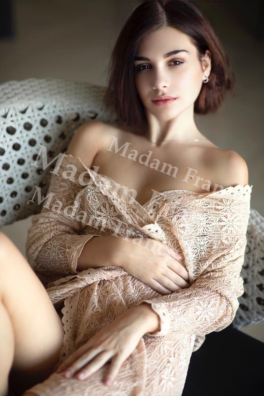 Emma model on Madam France escort service