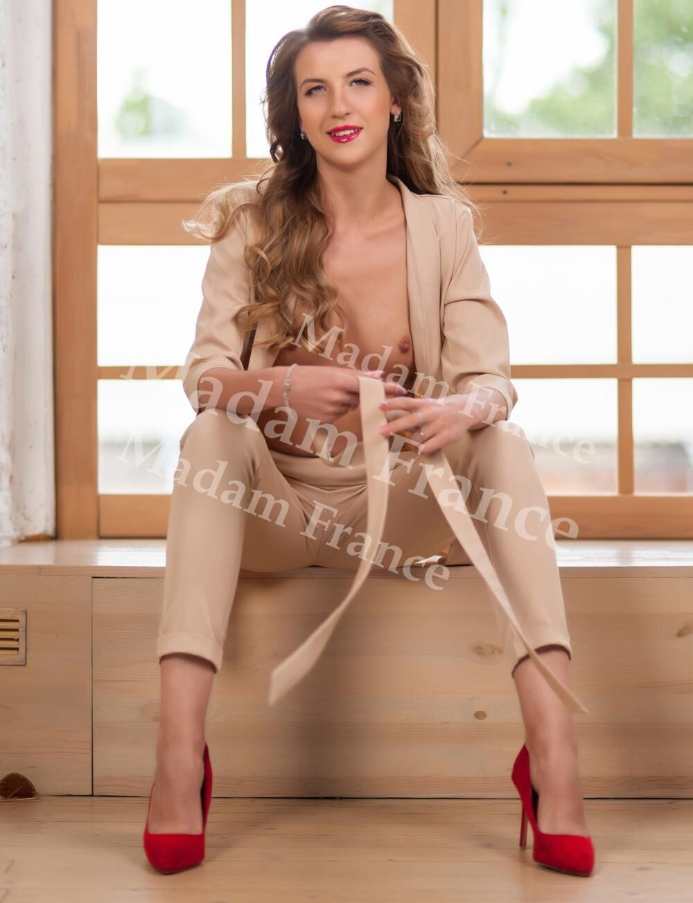 Ella model on Madam France escort service