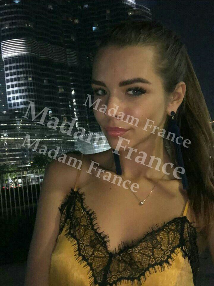 Ferrero model on Madam France escort service