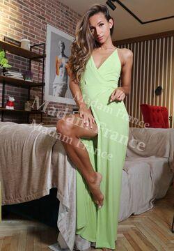 Model Emina on Madam