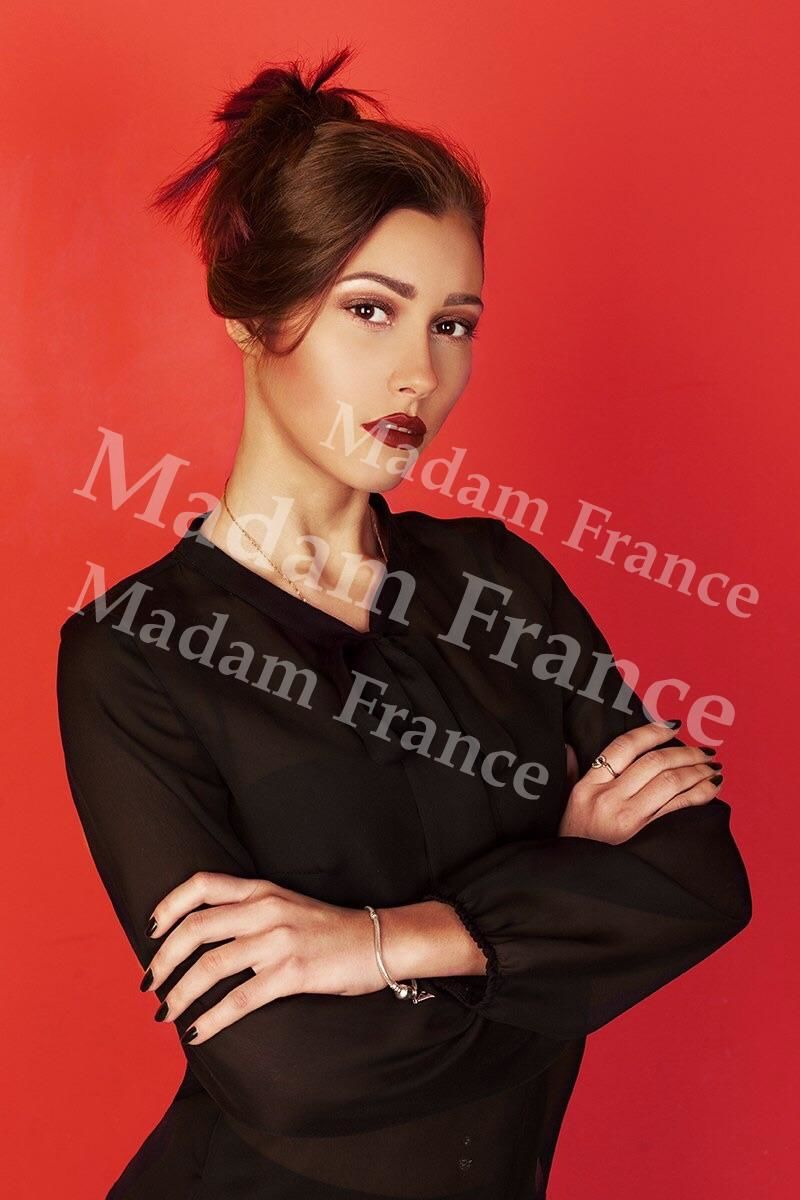 Heliya model on Madam France escort service