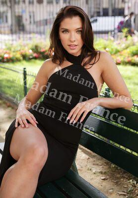 Model Amoura on Madam