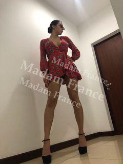 Model Luaza on Madam