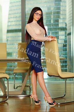 Model Sanya on Madam