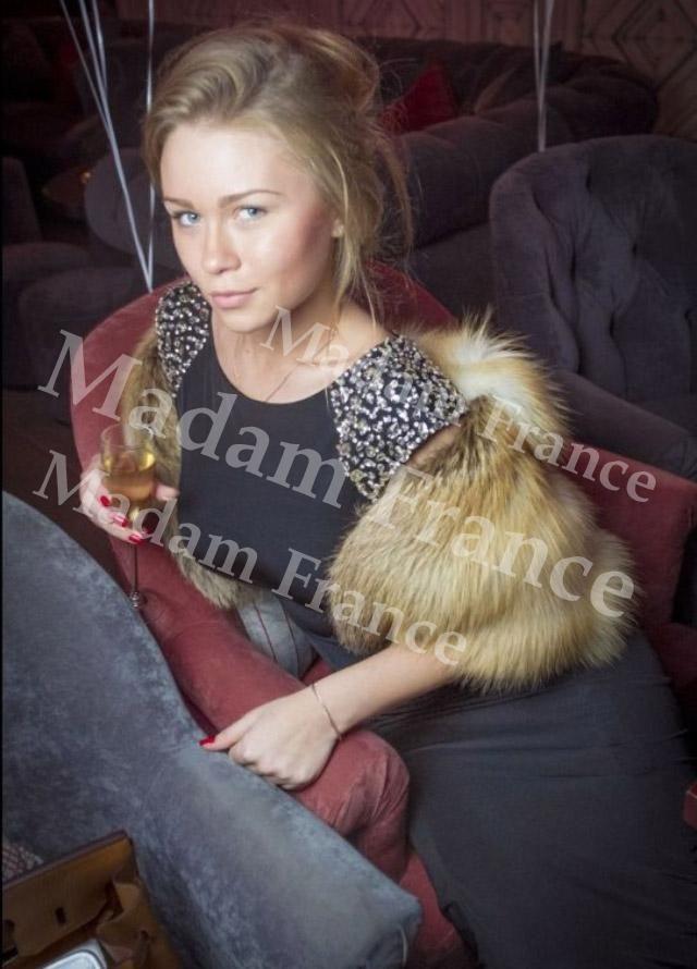 Yoha model on Madam France escort service