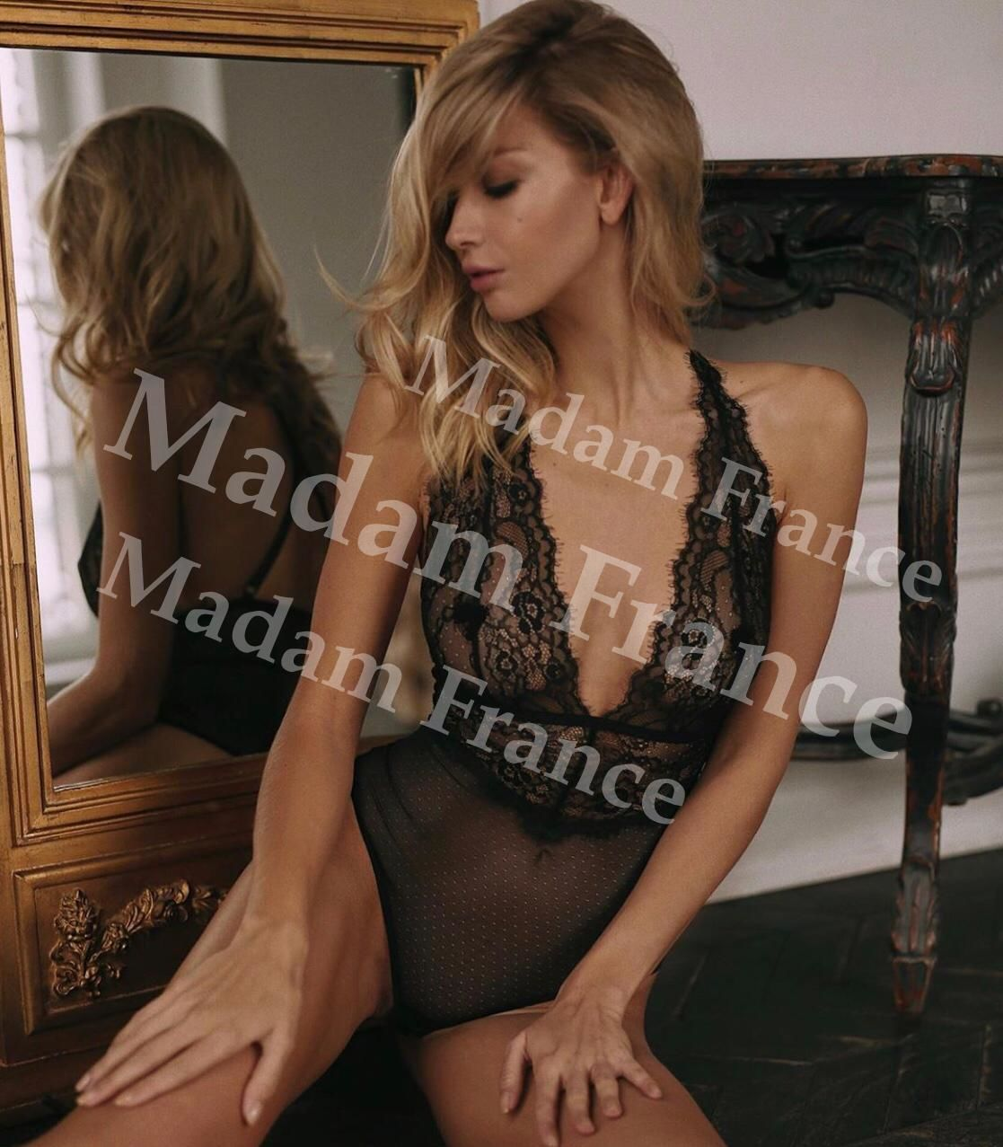 Tamiya model on Madam France escort service