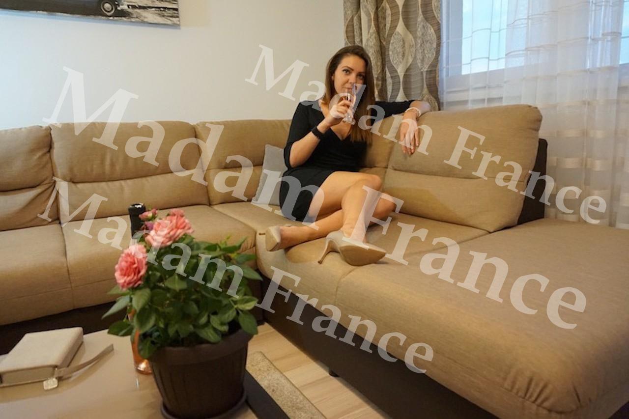 cristina model on Madam France escort service