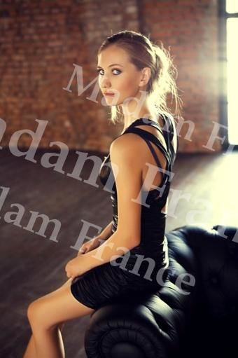 Olivka model on Madam France escort service