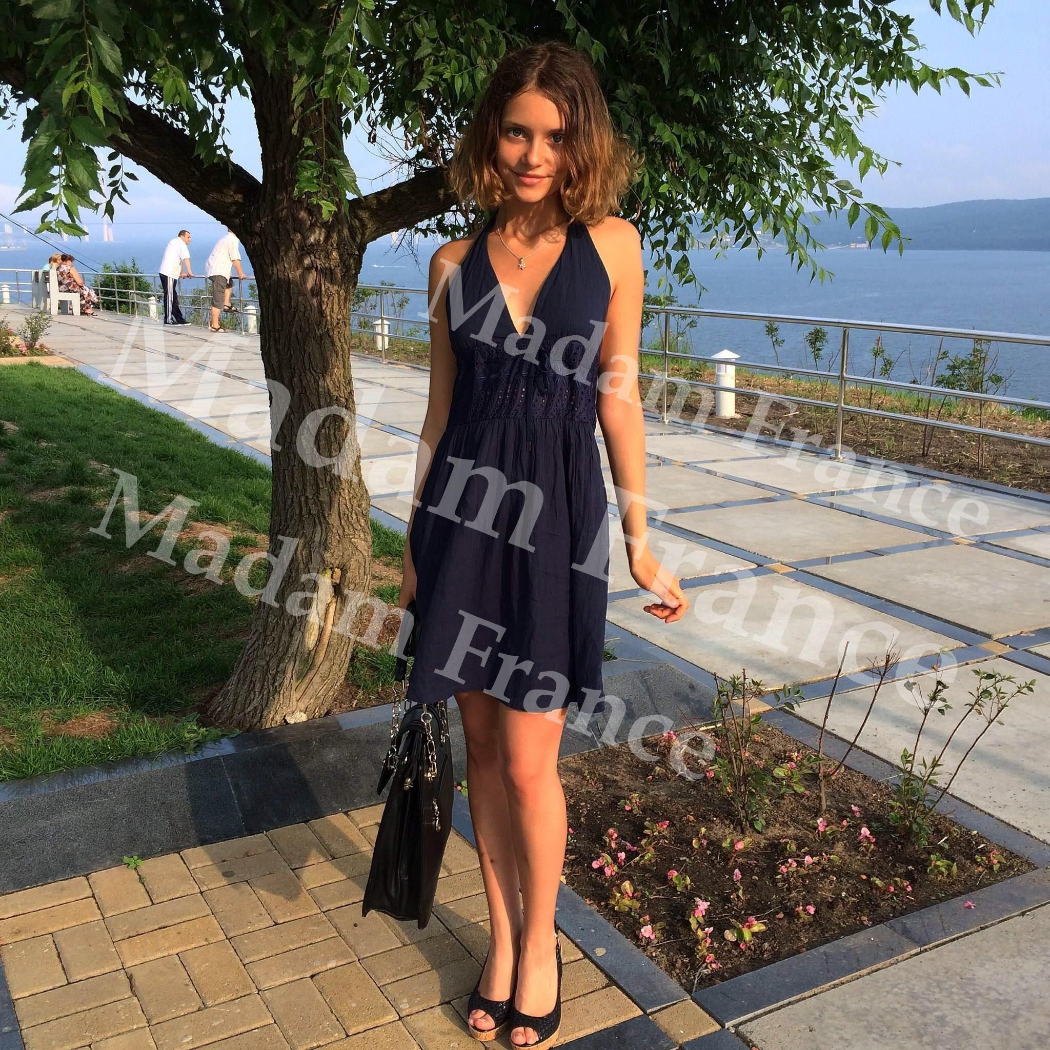 Karina model on Madam France escort service
