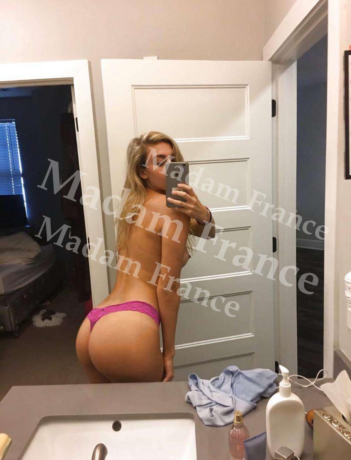 victorine model on Madam France escort service