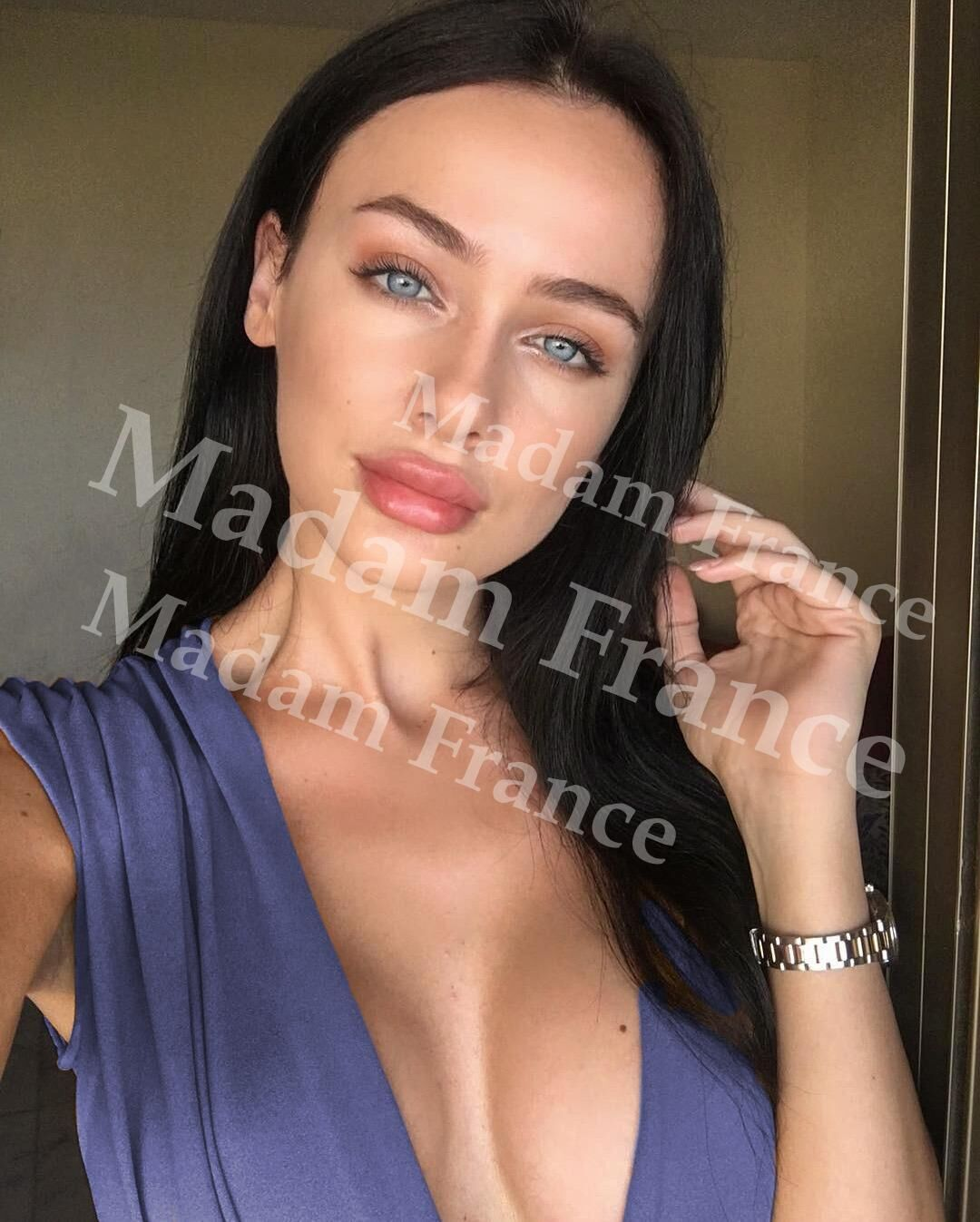 Melisa model on Madam France escort service