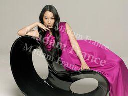 Model Miu on Madam